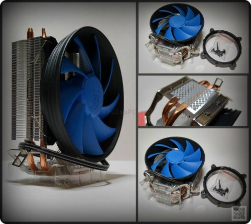 Deepcool Gammaxx 200T Collage