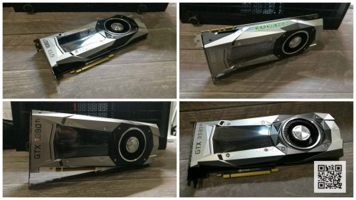 Видеокарта nVidia GeForce GTX-1080Ti Founders Edition фото коллаж