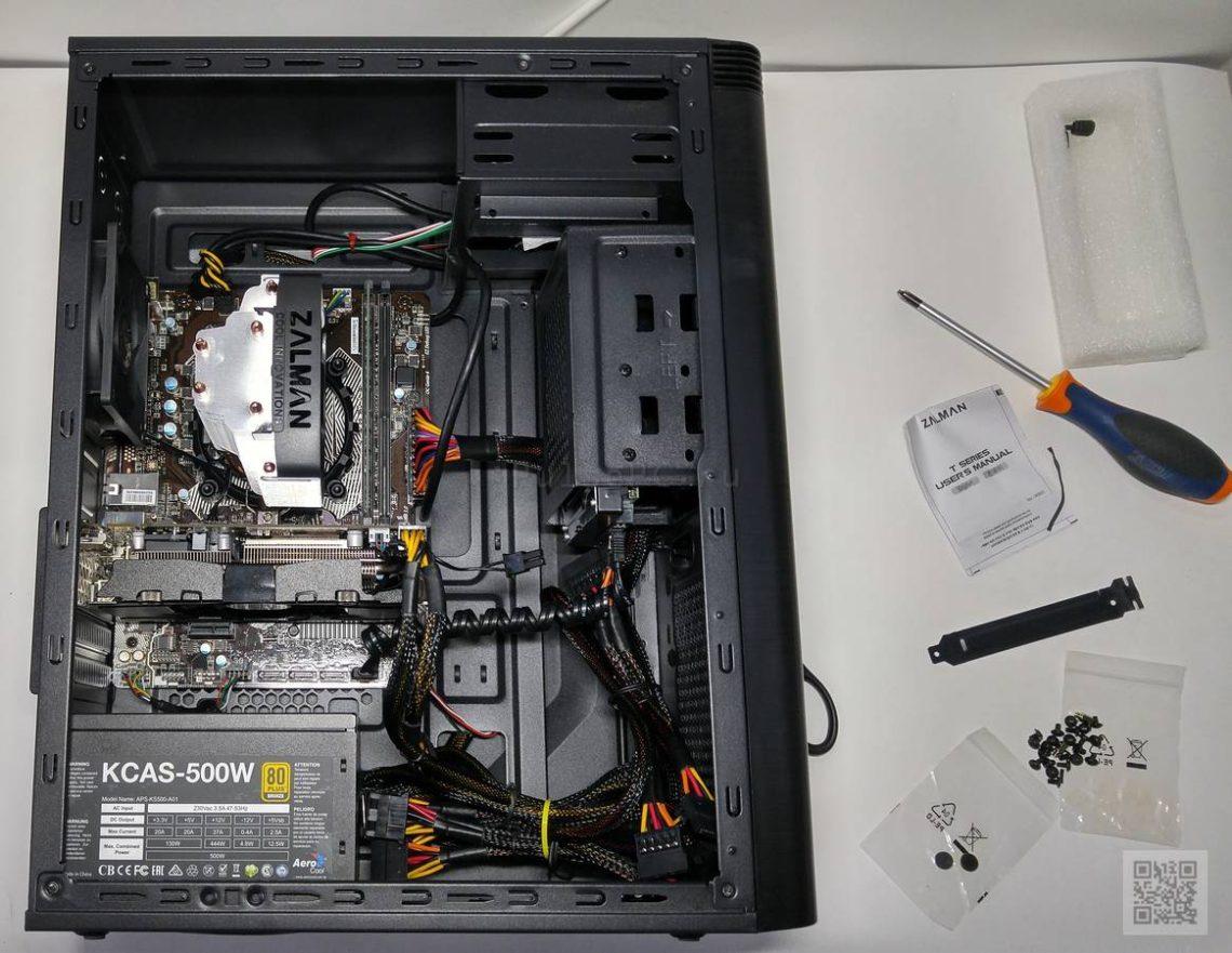 Компьютер для Dota 2 / Overwatch миниатюра