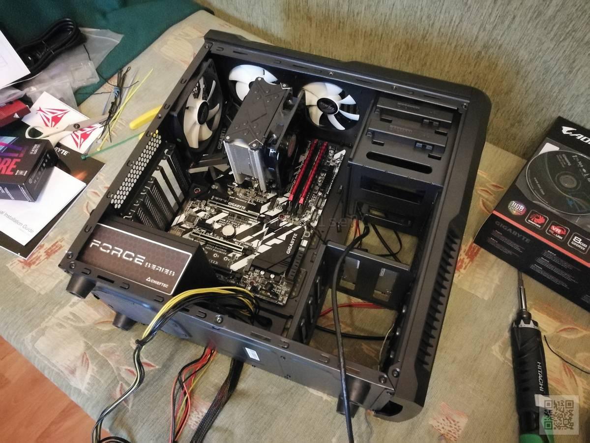 Сборка компьютера своими руками картинками