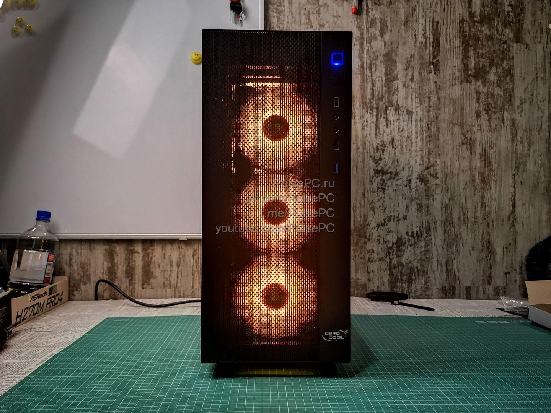 """Миниатюра для записи """"Сборка компьютера на заказ"""" Aorus Orange"""