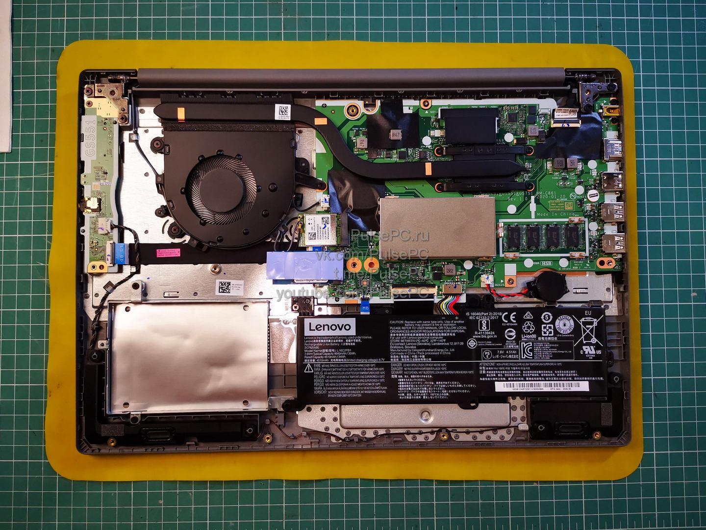 Lenovo IdeaPad 3 15ARE05 без крышки