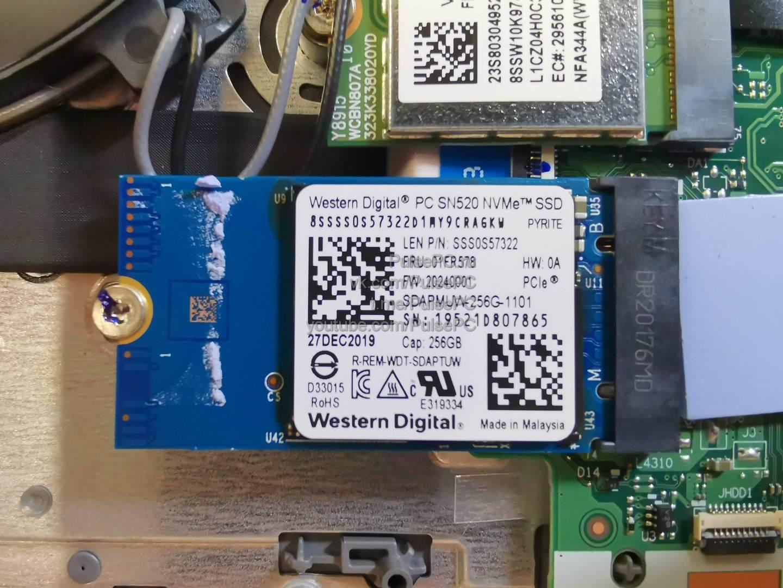 Делаю близкое фото SSD