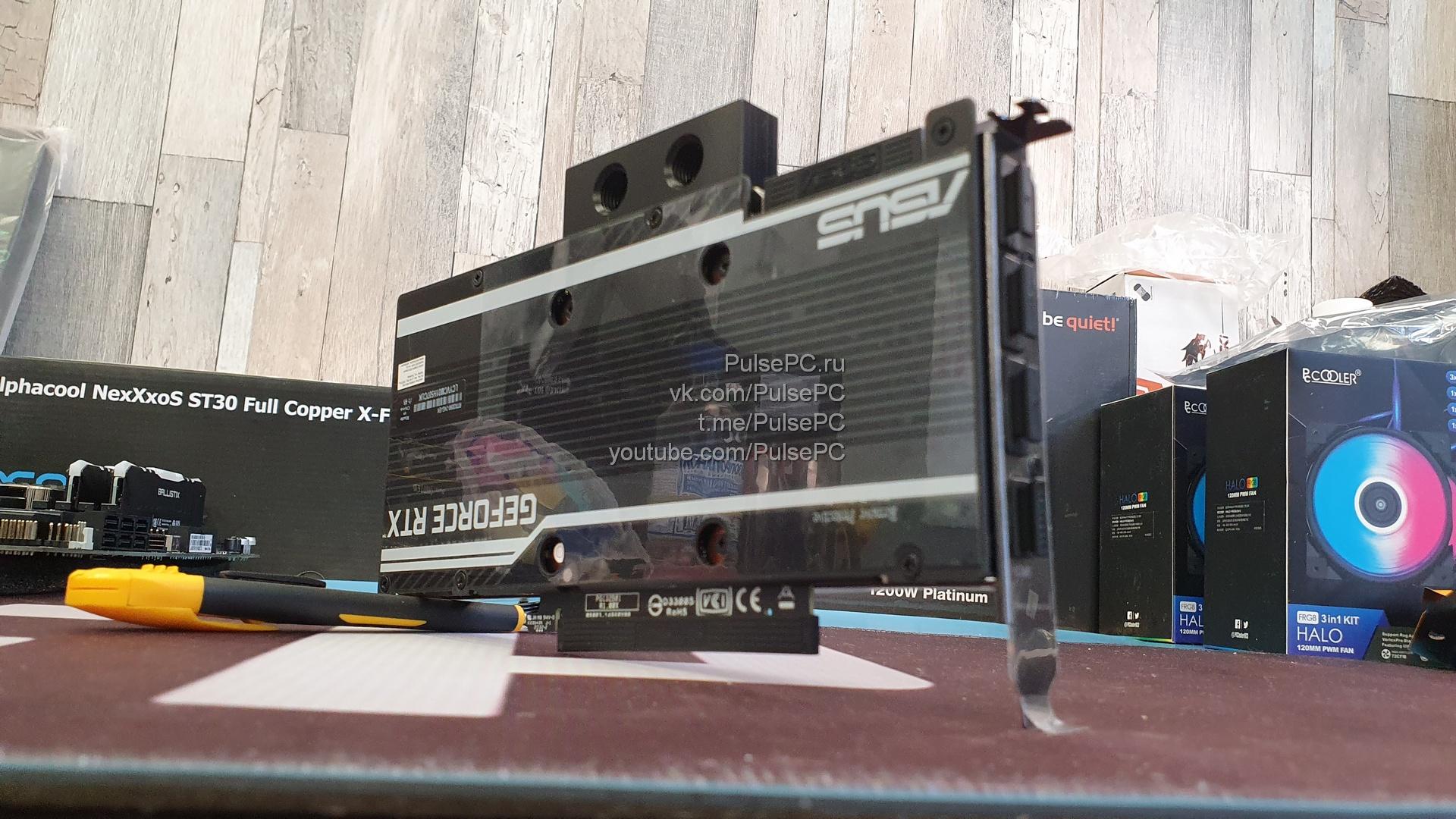 Видеокарта Asus EKWB GeForce RTX 3090 24GB RTX3090-24G-EK