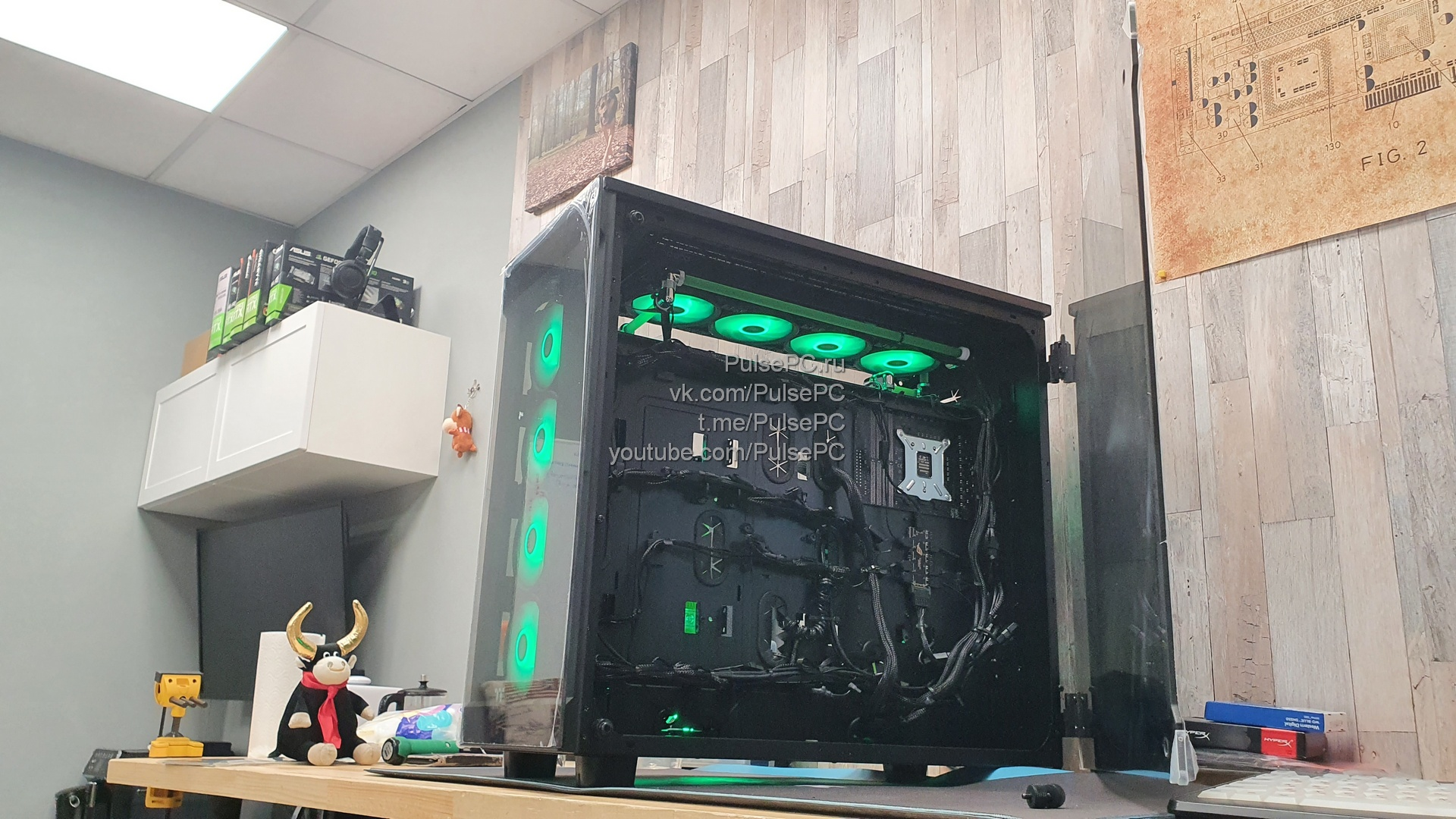 Кастомная СВО, сборка компьютера
